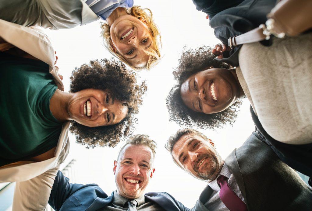 Mitarbeiterdialog Mitarbeitervernetzung Corporate Identity