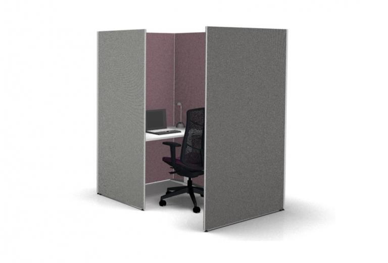 Büroeinrichtung Büro einrichten Fokusarbeitsplatz Focus space Büroausstattung moderne Büroeinrichtung